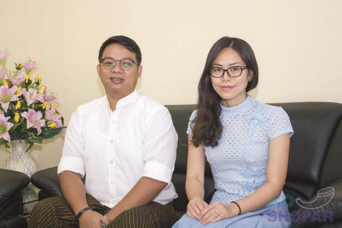 Innovative Visions 대표 Pyae Sone oo & Soe Eain Thu